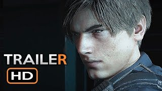 Resident Evil 2 Remake Trailer (E3 2018) Zombie Survival Horror Video Game HD