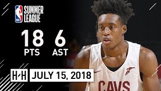 Collin Sexton Full Highlights Cavaliers vs Raptors (2018.07.15) Summer League - 18 Pts, 6 Ast, SICK!