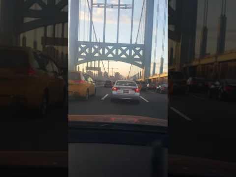 Driving NYC experience Triborough Bridge