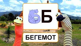 Урок 33. Буква Б. Звук Б.  Слоги и слова на букву Б. Читаем слоги и слова с буквой Б.