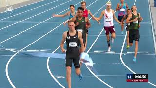 Clayton Murphy Wins Mens 800-Meter