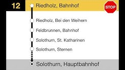 PostAuto Ansagen - 12 Oberbalmberg–Balm–Günsberg–Solothurn