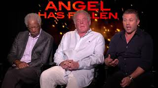 Angel Has Fallen - Itw Morgan Freeman, Nick Nolte, Roman Waugh (CAM X) (official video)
