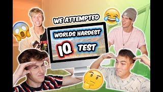 Worlds Hardest IQ Test Online (Loser Gets Roasted by the Group)
