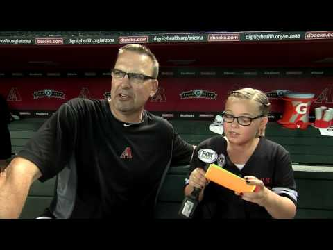 Mark Grace Kidkaster interview / Arizona Diamondbacks