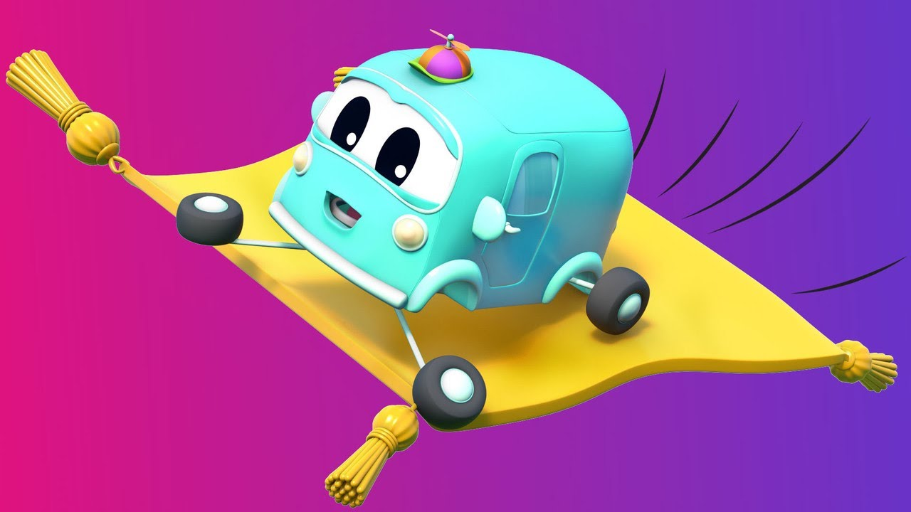 Have fun on SuperTRUCK's MAGIC CARPET!    Super Truck   Car City World App