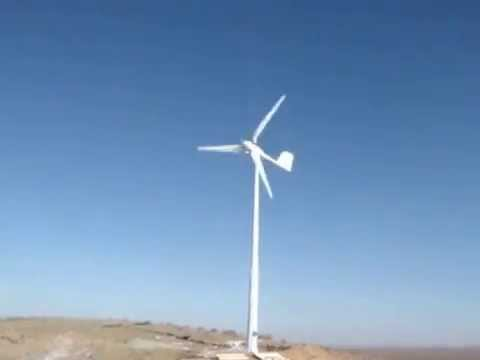 Cobra Mach-3 3KW pitch control wind turbine Made in china