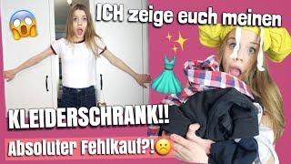 Absoluter Fehlkauf?!😝KLEIDERSCHRANKTOUR!!😱💕//Looskanal