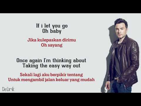 If I Let You Go - Westlife (Lyrics Video Dan Terjemahan)