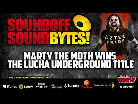 Marty The Moth Wins The Lucha Underground Championship