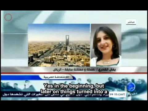 Syrian Student activist, first interview after detention