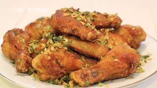 How To Make Salt And Pepper Chicken Wings!
