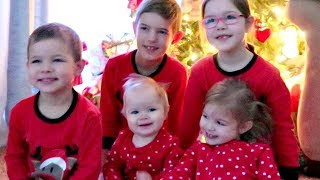 🎁CHRISTMAS MORNING with 5 Little Kids🎄