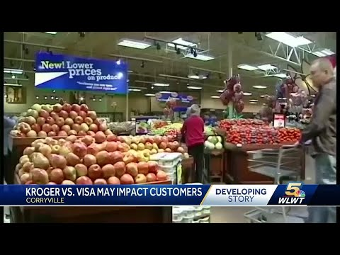 Kroger Could Ban Visa Credit Cards Nationwide