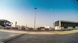 Dubai airport boring (boarding) timelapse
