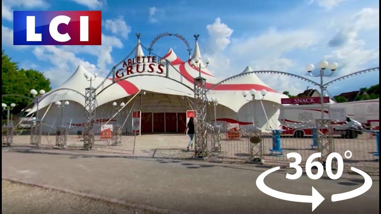 VIDÉO 360 - Dans les coulisses du cirque Arlette Gruss