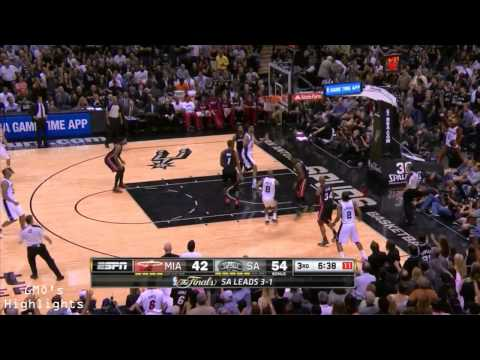Heat vs Spurs: Game 5 Full Game Highlights 2014 NBA Finals - Kawhi Leonard Finals MVP
