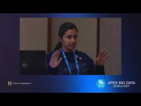 Real-Time Analytics for Actionable Insights (Applications Track) @ Apex Big Data World 2017, Pune