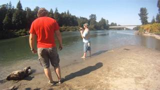 Salmon Fishing on the Snohomish River Wa. SnohoPinko's 2011 part 1 - OSP