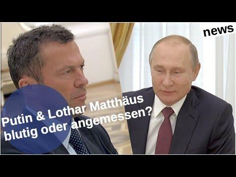 Putin-Lothar Matthäus: Blutig oder angemessen?