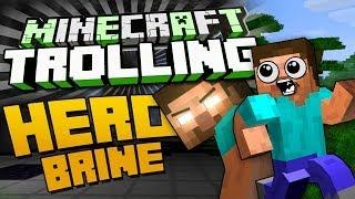 DER HEROBRINE ALTAR ?!? - Minecraft TROLLING ! - arazhulhd