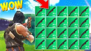 SQUADS SHOTGUN ONLY CHALLENGE! (Fortnite Battle Royale Best Moments)