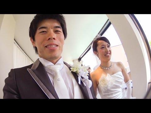 【初顔出し】結婚式挙げた!結婚式当日の新郎の一日を自撮りで紹介