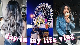 DAY IN MY LIFE VLOG (whyte ave, hair dyed, k-days) | maiphammy