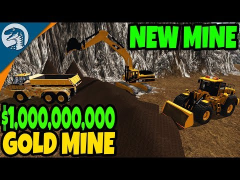 NEW EQUIPMENT, BIG MINE, $1,000,000 PAY OUT | Farming Simulator 17 Multiplayer Gold Mine Gameplay