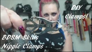 Using Nipple Clamps (Some DIY & Pervertable Options Too!) - BDSM Skills Ep#2