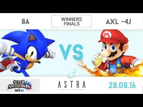 ASTRA 2016 - 8A(Sonic) vs Axl-4j(Fox/Mario/Diddy) - WiiU Winners Finals