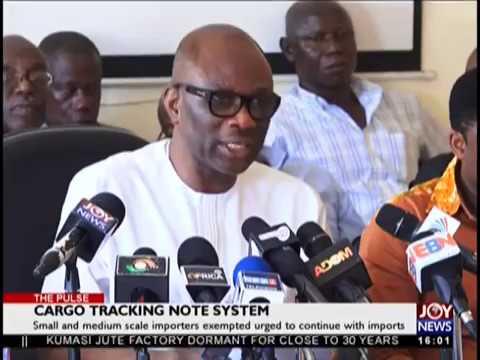 Cargo Tracking Note System - The Pulse on JoyNews (18-10-18)