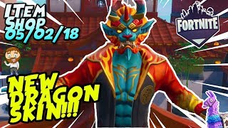 Fortnite Item Shop *NEW* FIREWALKER DRAGON SKIN, GOLDEN CLOUDS WRAP! + GAMEPLAY [February 5th, 2019]