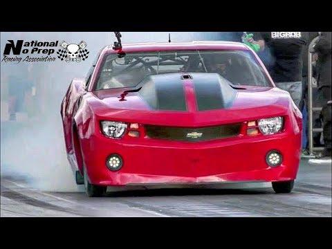 Fireball Camaro vs Street Beast Doc at Conquer the Concrete