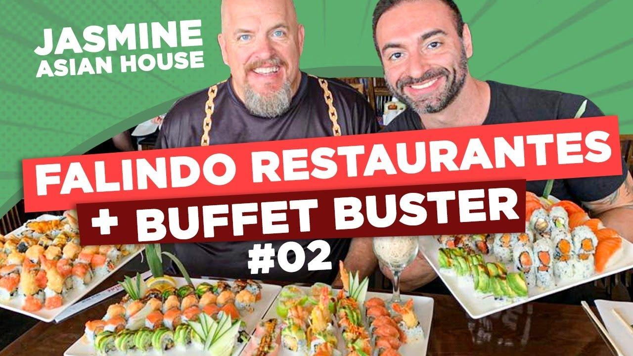 Corbucci & Bob no rodízio de sushi!! [FALINDO RESTAURANTES + BUFFET BUSTER #2]
