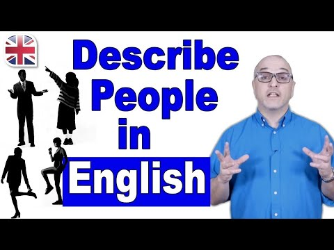 How to Describe a Person in English - Spoken English Lesson