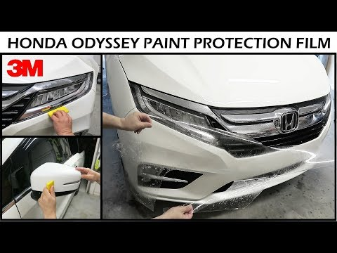 Install 3M Scotchgard Pro Paint Protection Film On Honda Odyssey 2019