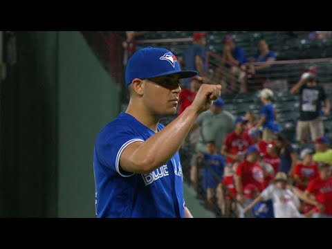 Roberto Osuna is named the AL Reliever of the Month