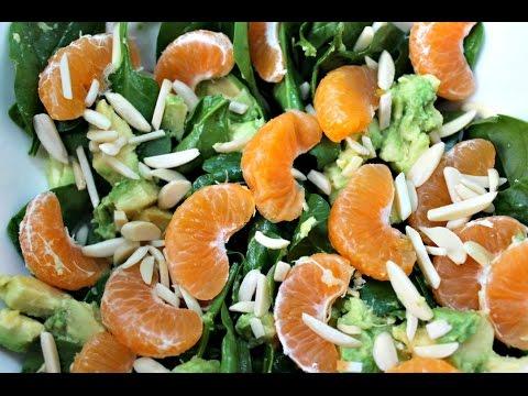 Mandarin Salad With 4 Ingredients