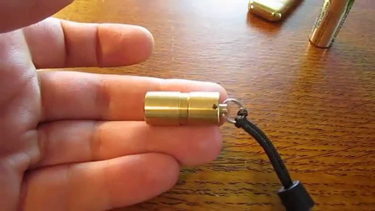 World's Smallest Brightest Flashlight