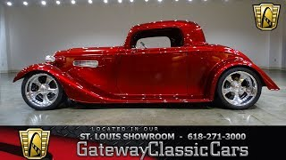 1933 Factory Five Roadster for sale at Gateway Classic Cars STL