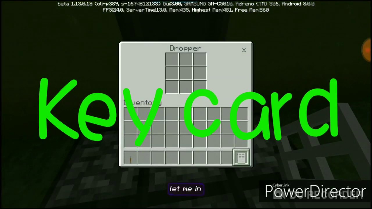 How to make a redstone key card door in minecraft pe - YouTube