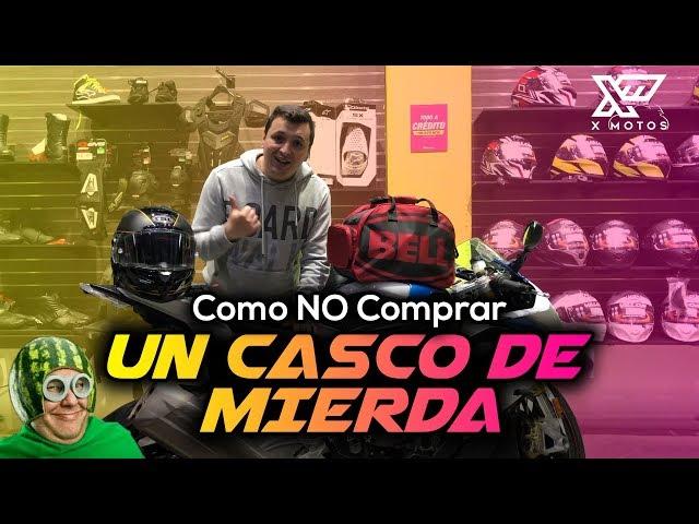 COMO NO COMPRAR UN CASCO DE MIERDA │ X Motos