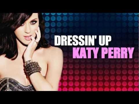 Dressin' Up - Katy Perry (Lyrics Video) with lyrics on screen