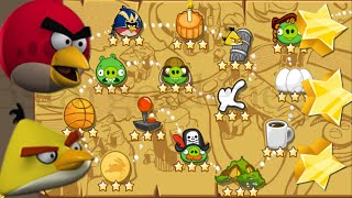 Angry Birds Season The Pig Days Part #1 Levels 1 to 15