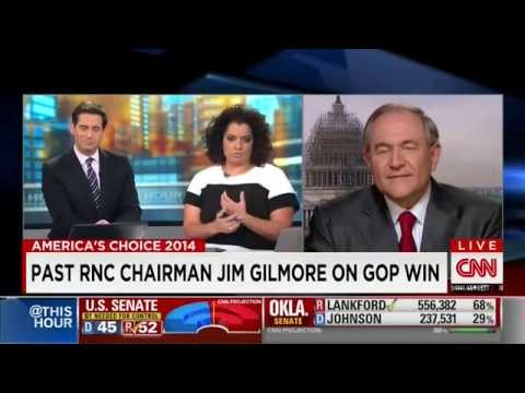 Gov. Jim Gilmore discusses the Midterm Elections on CNN November 5, 2014