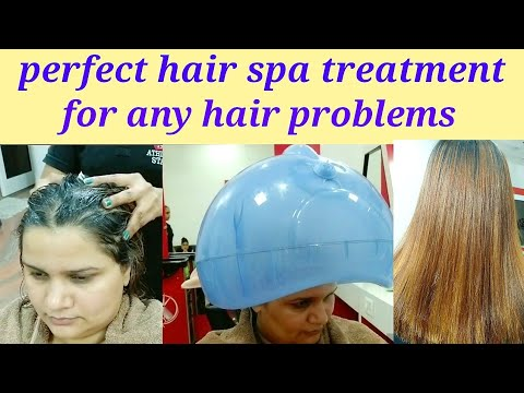 how to do hair Spa treatment at home step by step easy & simple method
