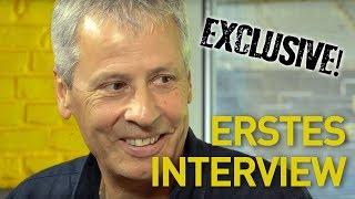 Lucien Favre - Sein erstes Interview beim BVB |