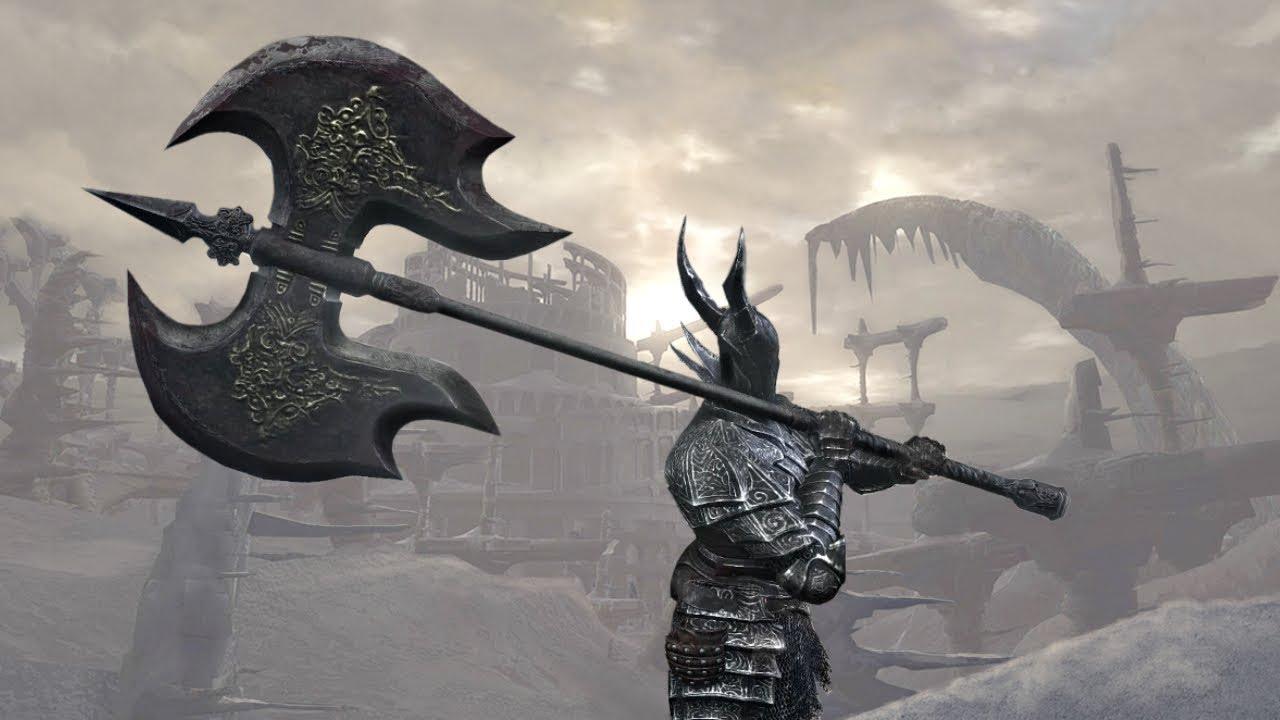 Dark Souls 3 Pvp Black Knight Great Axe Youtube