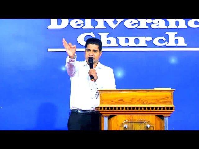 Pr.Shajan George - Deliverance By Fire 09.03.2018